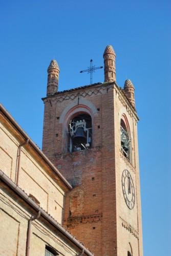 Rocca d'Arazzo - particolare del campanile