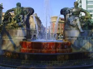 fontana in p.zza solferino