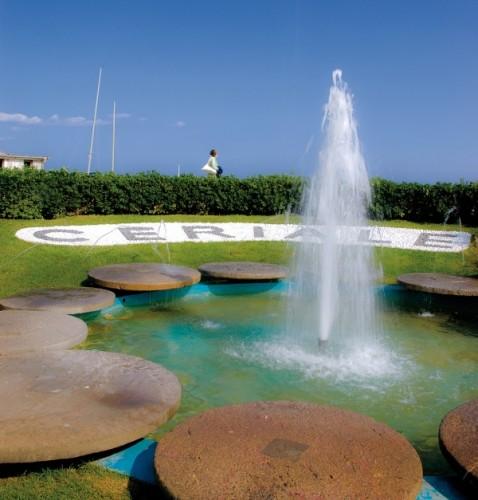 Ceriale - La spumeggiante fontana di Ceriale