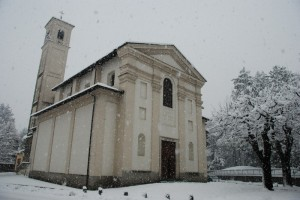 Chiesa di S.Gerardo-gran nevicata-