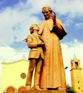 la chiesa del Sacro Cuore affidata ai salesiani don Bosco