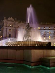 Roma - Fontana di Piazza della Repubblica