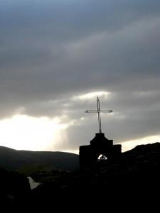 Chiesa fra  monti