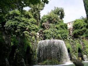 Villa d'Este, fontana dell'Ovato