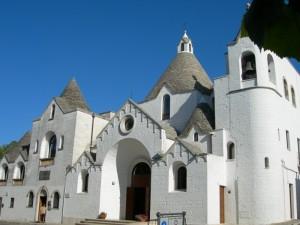 Alberobello, la Chiesa trullo