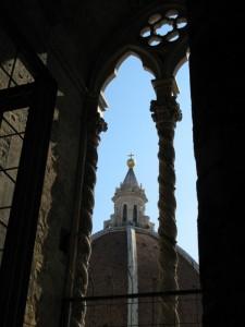 La cupola del Brunelleschi (vista dal campanile di Giotto)