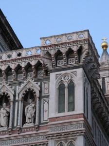 Il duomo di Firenze, particolare