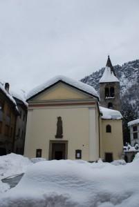 San Lorenzo nella neve