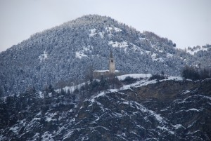 San Nicola e la montagna