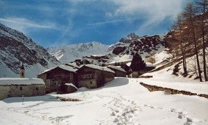 Borgo della valle di Bellino