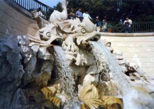 La grande Fontana della Reggia di Caserta