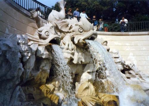Caserta - La grande Fontana della Reggia di Caserta