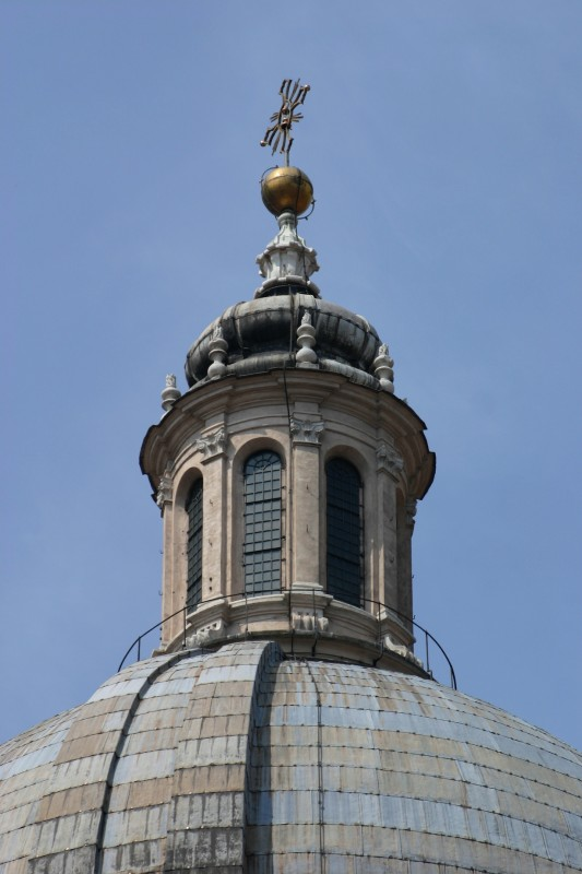 ''Basilica di S. Andrea cupola'' - Mantova