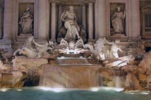Dettaglio di Fontana di Trevi