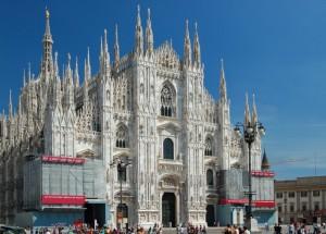 Il Duomo… purtroppo in restauro