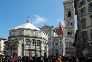 Battistero, Duomo e Campanile