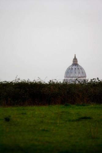 Roma - San Pietro, dai pratoni della valle dell'inferno.