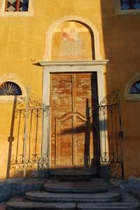 Entrata Chiesa Parrocchiale di Ponzate fraz.di Tavernerio