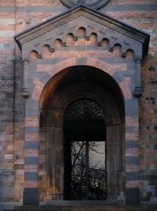 La Pievedi San Prospero in Collecchio - Il portale