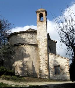 Chiesa Santa Maria dei Renali, via S.G.Battista - Arcevia