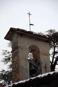 Campana chiesa in Loc Casina a Solzago