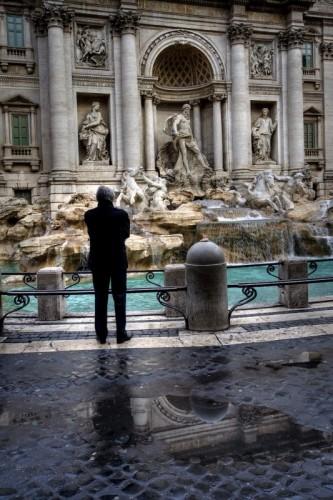 Roma - Contemplando il Fontanone