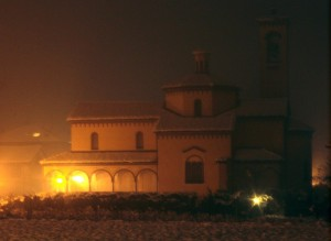 San Giorgio e la neve