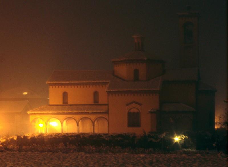 ''San Giorgio e la neve'' - Bodio Lomnago