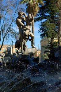 Particolare della Fontana di Proserpina
