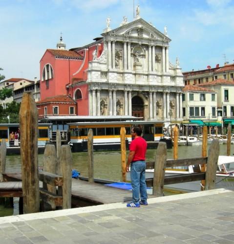 Venezia - Chiesa cattolica in laguna