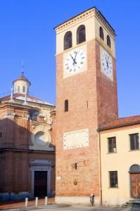 Riva presso Chieri - Chiesa di Maria Vergine Assunta - Scorcio