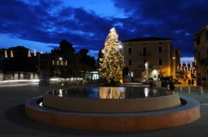 Fontana in Piazza Santa Maria degli Angeli