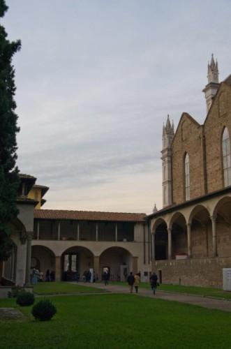 Firenze - Chiostro di Santa Croce