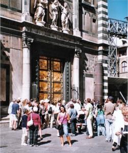 la porta del paradiso a Firenze
