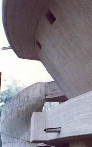 Chiesa Memorial per il Vajont Michelucci