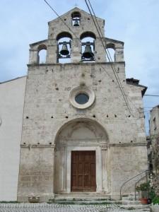 La parrocchiale di Castelvecchio Calvisio
