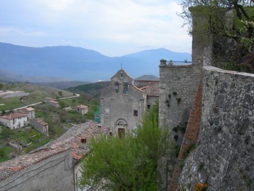 Carapelle Calvisio - La chiesa di Carapelle Calvisio