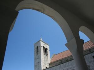 Campanile della chiesa di  santa Scolastica al porto di Bari