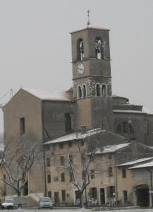 Chiesa di Custoza con neve2