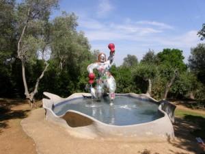 Fontana nel giardino dei tarocchi