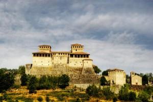 Castello di Torrechiara in hdr
