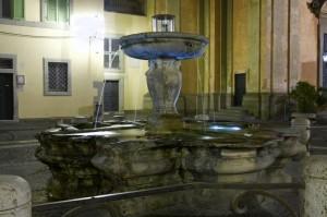 Fontana in Piazza della Libertà a Castel Gandolfo