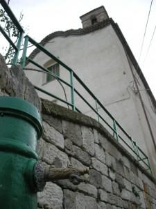 La Cappella vista dalla fontana