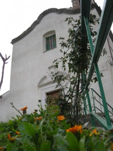 Cappella delle Grazie vista dalle scale