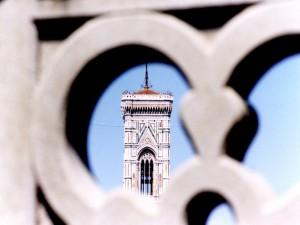 particolare del campanile di giotto