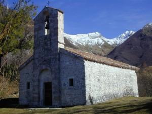 Chiesetta di S. Antonio nella Val Venzonassa.