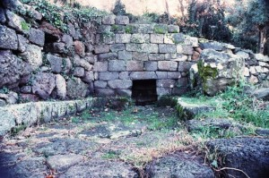SANTU FRANZISKU FORANU +/- 1700 a.C. LOGUDORO DE SARDINIA