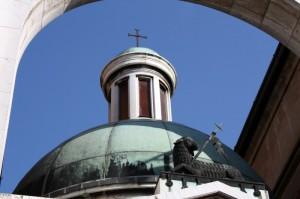 Particolare della Chiesa di Santa Maria Assunta a Sabbioneta