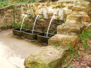 le tre fontane di S. Giusto di Compito
