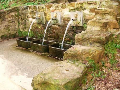 Capannori - le tre fontane di S. Giusto di Compito